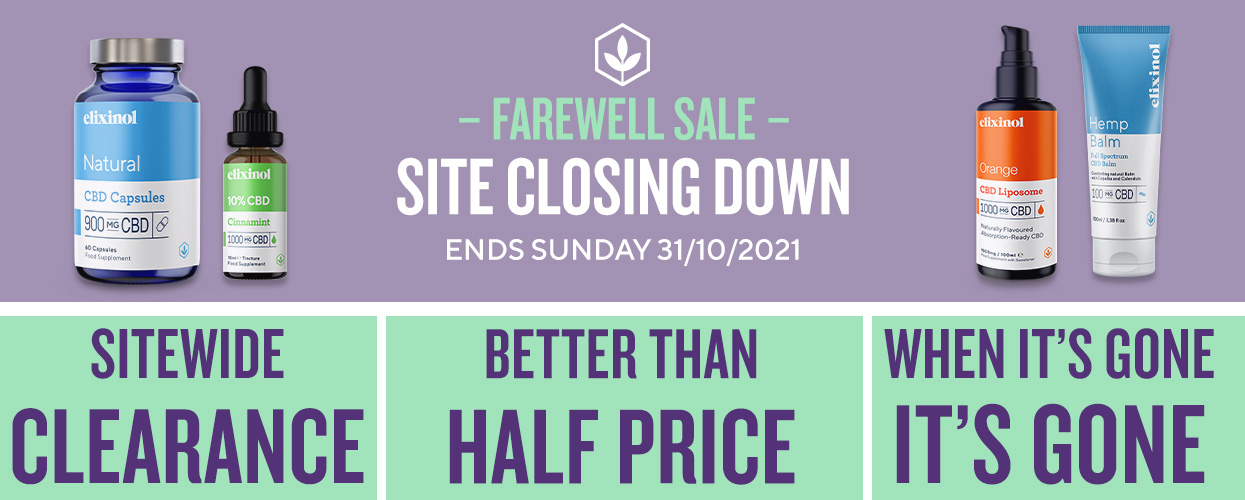 Site Closing Down! Clearance Sale.